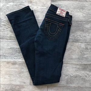 Straight Leg True Religion Jeans